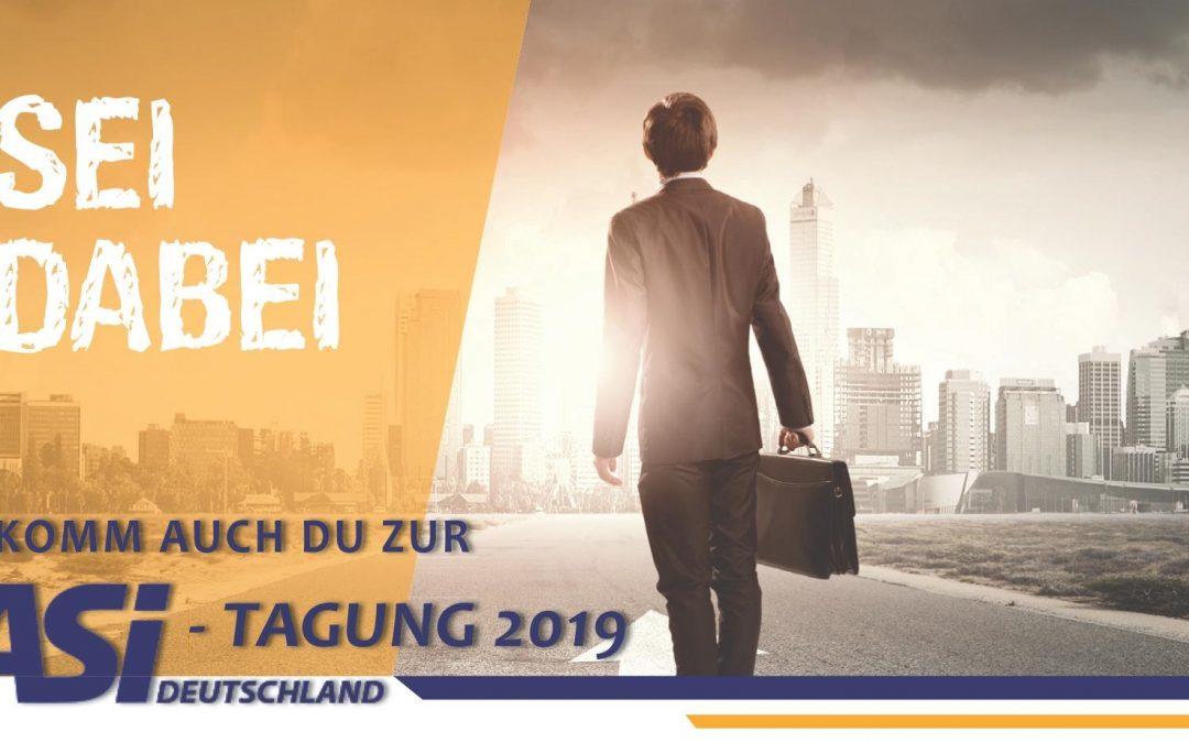 Vergünstigte Anmeldung zur ASI-Tagung endet am 31. Juli 2019